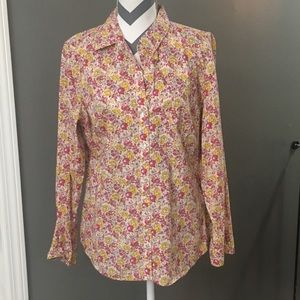 Floral Buttondown Shirt Large